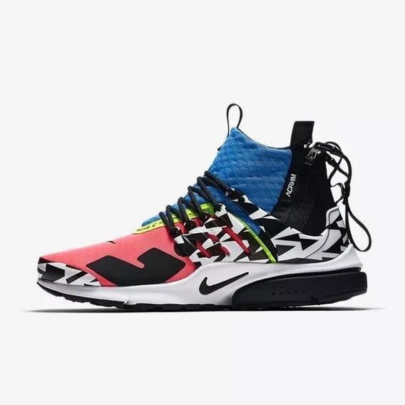 Tenis Nike Air Presto Mid Sp Acronym Racer Pink