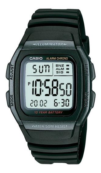 Relógio Casio Standard Masculino W-96h-1bvdf