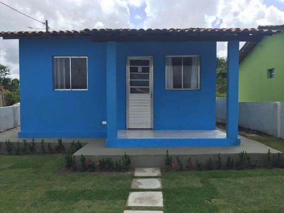 Casa Em Ana De Albuquerque, Igarassu/pe De 48m² 2 Quartos À Venda Por R$ 120.000,00 - Ca288375