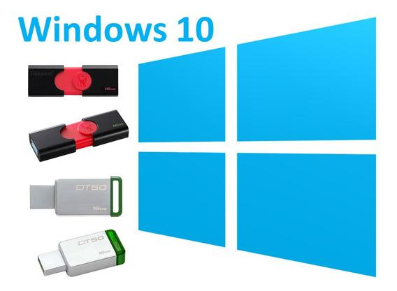 Memoria Usb Con Windows 10 Booteable Auto Arrancable