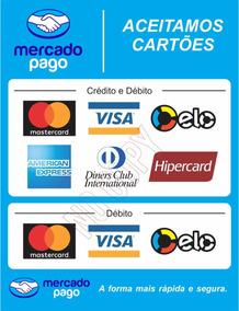 Adesivos Mercado Pago - Maquininha De Cartão Point H / Po
