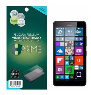 Película Premium Hprime De Vidro Temperado Lumia 640