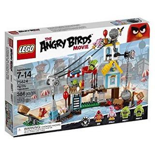 Juguetes De Construcción,juguete Lego Angry Birds Pig 75..
