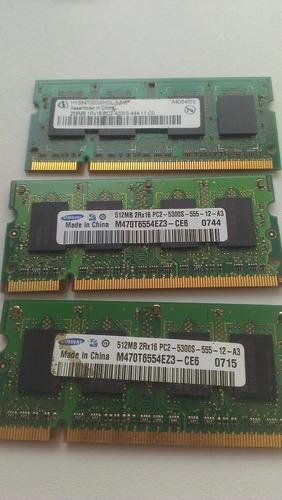 Remato Memorias Laptop 256 512 Como Nuevas