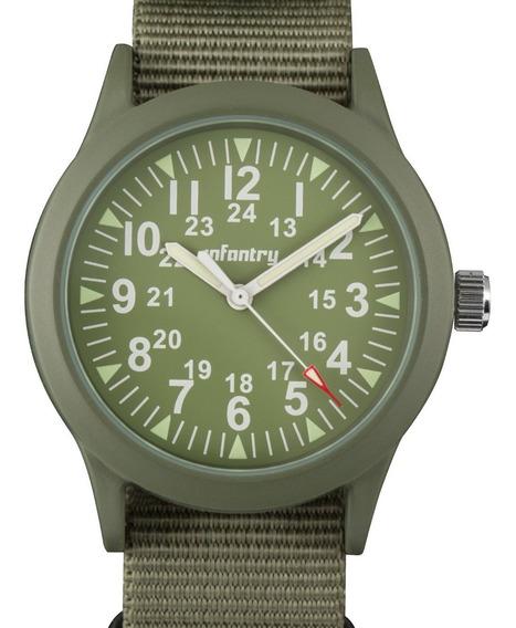 Infantry Reloj Militar Para Hombre De Ejército Reloj Anal