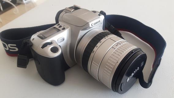 Câmera Canon Eos-300 Com Lente Sigma 28-105mm