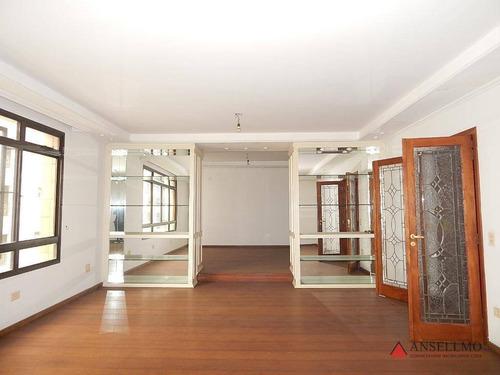 Apartamento Com 3 Dormitórios À Venda, 237 M² Por R$ 1.300.000,00 - Chácara Inglesa - São Bernardo Do Campo/sp - Ap1997