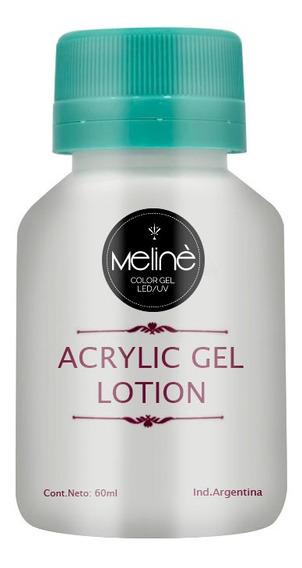 Solución Acrylic Gel Uñas Esculpidas Lotion Meliné X60 Cc