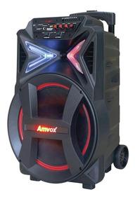 Caixa Amplificada Amvox Aca 292 New Bluetooth 290w