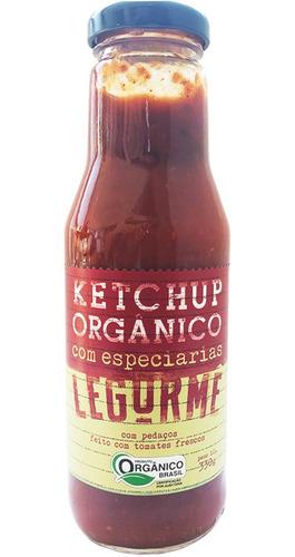 Ketchup Org Com Especiarias 330g