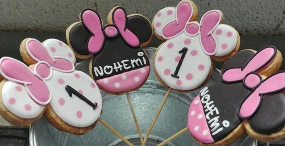Paletero De Minnie Mouse Decoración Para Fiestas En