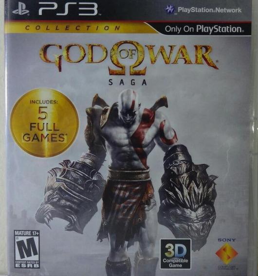Jogo De Ps3 God Of War Saga Em Mídia Física