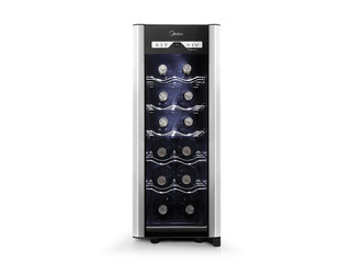 Cava De Vino Midea 12 Botellas Con Panel Touch