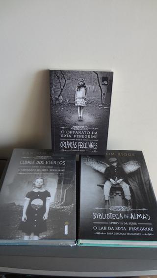 3 Livros O Orfanato Da Srta. Peregrine