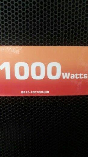 Blz Caixa 1000 Wats