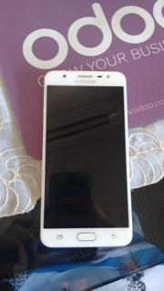 Celular Samsung Galaxy J7 Prime - Dourado - Semi-novo