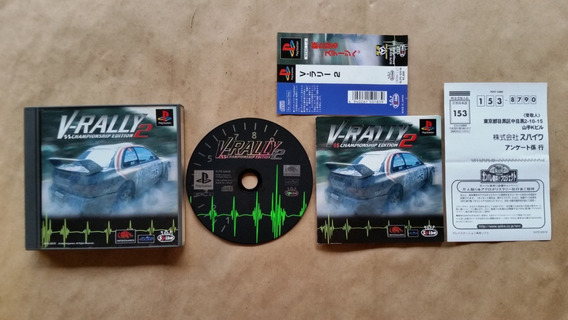 V-rally 2 Championship Edition Ps1 Original Completo Jp Top