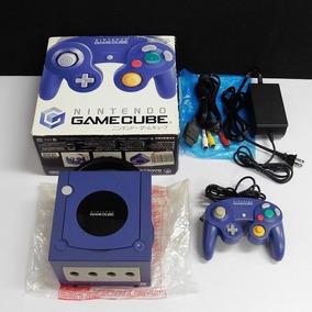 Game Cube Completo + 6 Jogos Originais