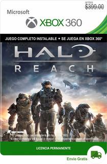 Halo Reach Xbox 360 - Español -- Envío Gratis -