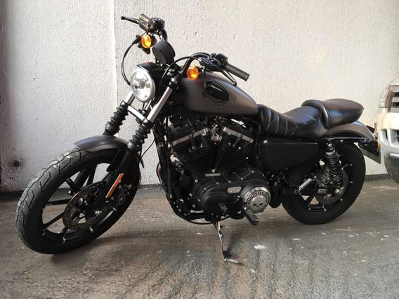 Harley Davidson Iron 833 Xl 2016 Cinza Equipada
