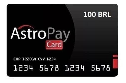 Cartão Astropay Astropaycard 200,00