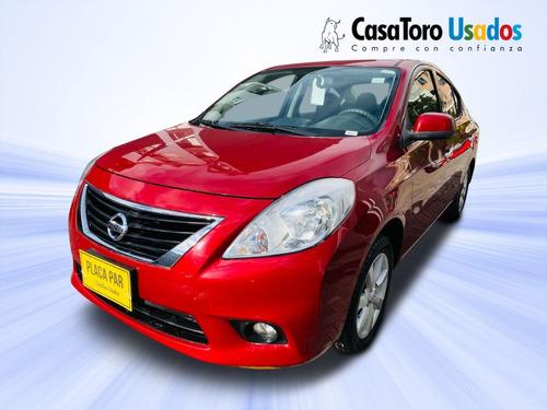 Nissan Versa Advance Sd Mt 2014 -1600cc