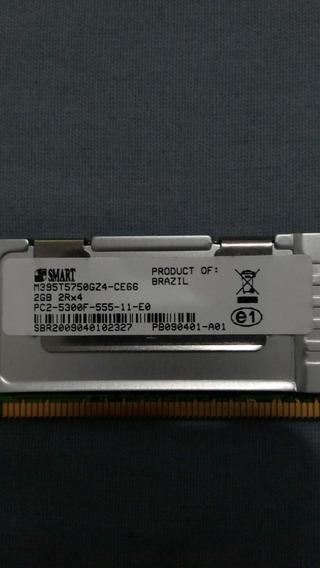 Memórias Smart 2gb Ddr2 5300f 667mhz 2rx8