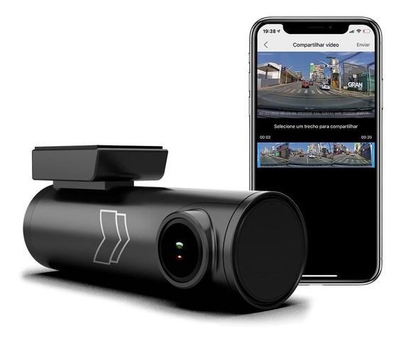 Câmera Dvr Veicular Gravação Full Hd Wifi Gps 2k 1440p Uber