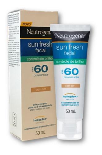 Protetor Solar Rosto Neutrogena Toque Seco Hidratante Fps 60