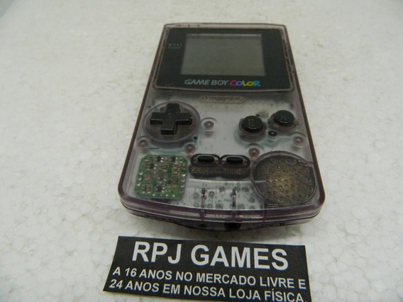 Game Boy Color Clear Purple - Leia O Anuncio E Veja As Fotos