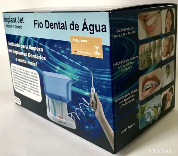 Irrigador Oral Fio Dental De Água Mod Hf-7 Classic 127v