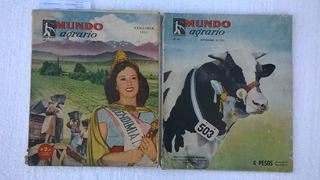 Revistas Antigas Mundo Agrario De Buenos Aires Ano 51 E 52