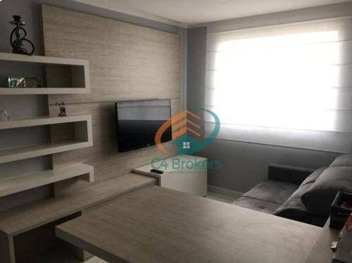 Apartamento Com 2 Dormitórios À Venda, 45 M² Por R$ 240.000,00 - Jardim Las Vegas - Guarulhos/sp - Ap0947