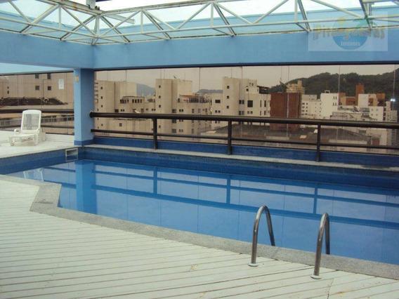 Pitangueiras - Flat De Alto Padrão - 100 Metros Do Mar - Lazer - 2 Vagas. - Fl0033