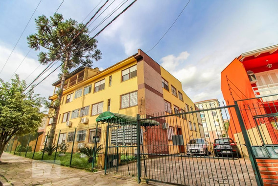 Apartamento No 3º Andar Com 2 Dormitórios E 1 Garagem - Id: 892968342 - 268342