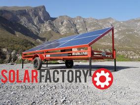 Planta Solar Movil 1.5kwp.2400w1f