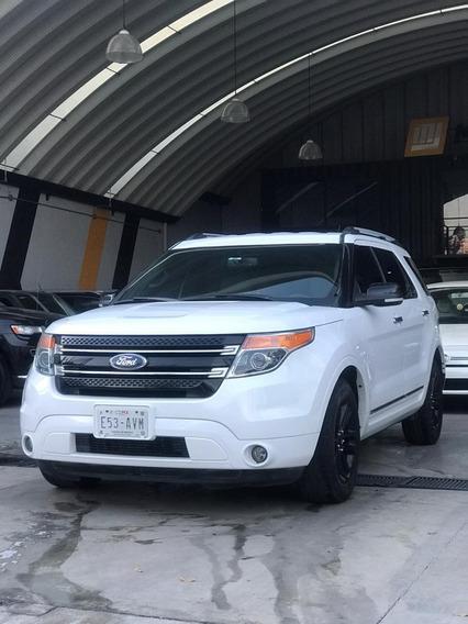 Ford Explorer 3.5 Xlt Piel Mt 2015