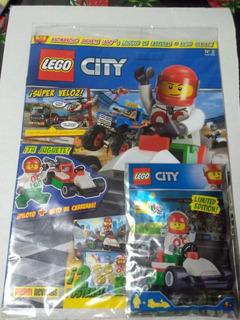 Revista Lego City No. 2 Auto De Carreras