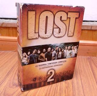 Serie Lost Dvd Usada 2 Segunda Temporada Completa Original