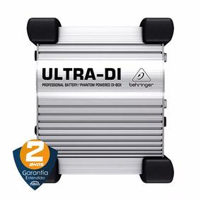 Direct Box Ativa Groundlift Ultra Di-100 - Behringer