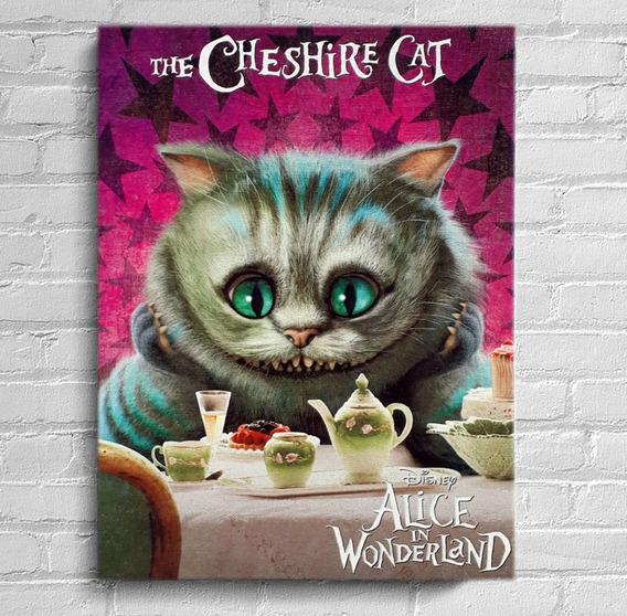 Quadro Cheshire Impresso Em Tela De Pintura 30x40 Cm