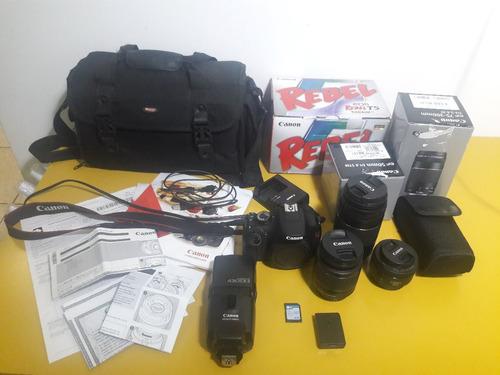 Camera Rebel Eos T5 Canon + Acessórios