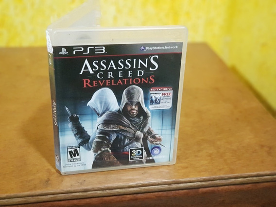 Assassins Creed Revelations Usado Ps3 Mídia Física
