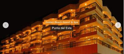 Punta Del Este Golden Beach Resort Y Spa 14 Al 21 Enero 2018