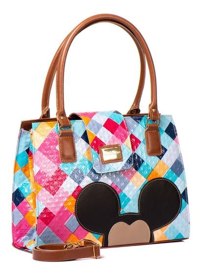 Bolsas Femininas Transversal Com Tampa Mickey Mouse Barato