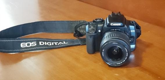 Câmera Canon 400d + Lente Sigma 70 300