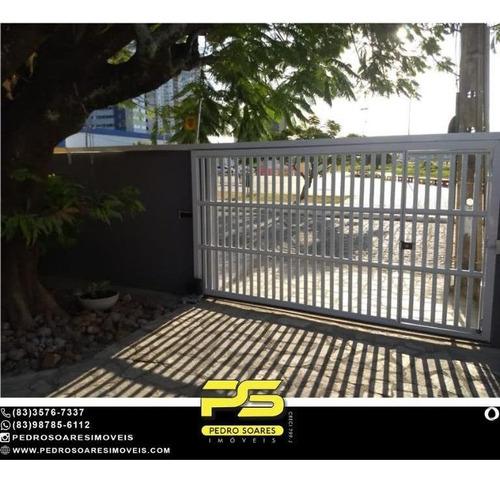 Casa Com 3 Dormitórios À Venda, 220 M² Por R$ 1.000.000 - Jardim Oceania - João Pessoa/pb - Ca0962