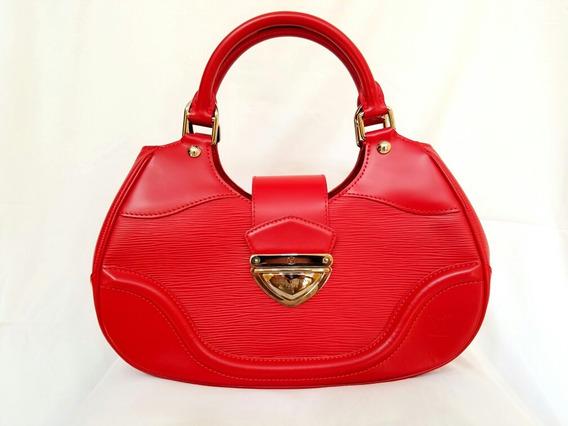 Bolsa Louis Vuitton Roja Con Cartera Original Nueva