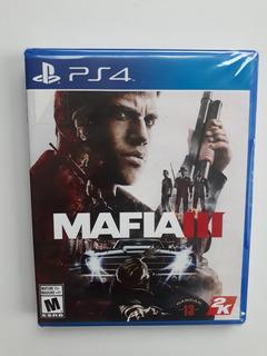 Mafia 3 Juego Ps4 Nuevo Y Sellado En Español.