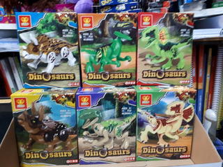 Dinosaurios Lego Gigantes